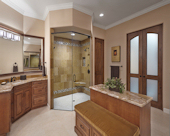 Traditional Accessible Master Bath