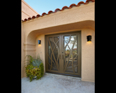 Remodeled Double Door Entry