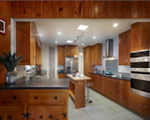 Midcentury Modern Kitchen.
